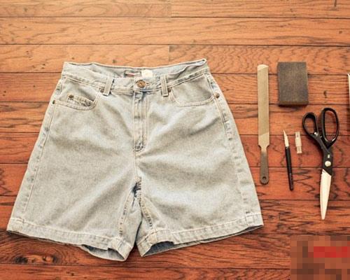 Tự tay làm quần jeans rách cực chất! - 1