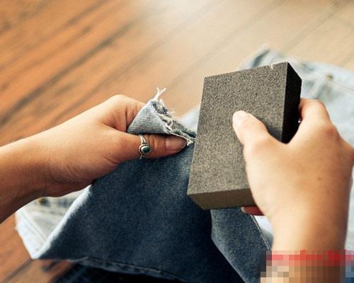 Tự tay làm quần jeans rách cực chất! - 4