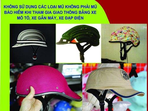 TP.HCM: Đổi mũ bảo hiểm xịn từ 8 giờ sáng nay - 1