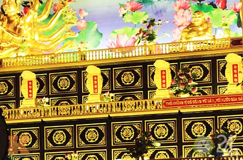 Đền thờ dát vàng giá ngàn tỷ tại VN, Tin tức trong ngày, kim dien,den tho dat vang, lon nhat viet nam, vang 24k,dat vang, ma vang,ky luc viet nam,da no hoa tin tuc,vn