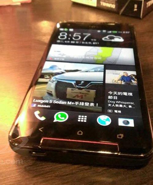 HTC Butterfly S màn hình 5 inch Full HD lộ ảnh - 1