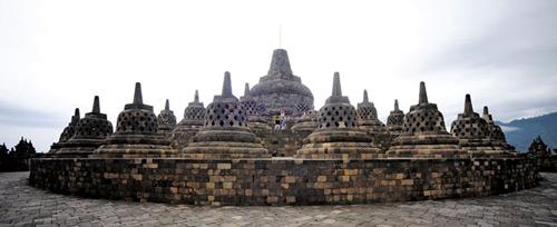 Khám phá vẻ đẹp đền thiêng Borobudur - 6
