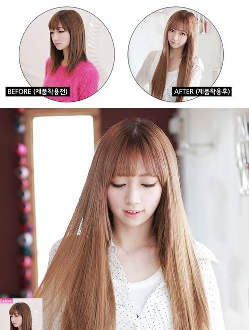 Xinh yêu nhờ chọn tóc giả như thật - 3