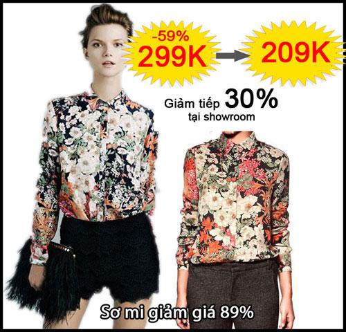 """""""Mưa"""" sản phẩm thời trang giảm giá sốc - 3"""