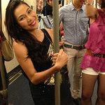 Ca nhạc - MTV - Khánh Ngọc múa cột trên tàu điện ngầm