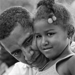 Tin tức trong ngày - Barack Obama - hình ảnh người cha mẫu mực