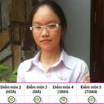 Bạn trẻ - Cuộc sống - Nữ sinh Huế đỗ thủ khoa với 59 điểm