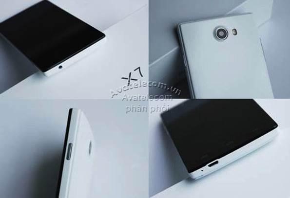Aveo X7 – Smartphone FULL HD giá siêu rẻ tại VN - 1