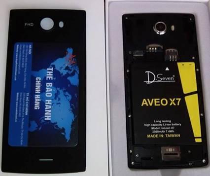 Aveo X7 – Smartphone FULL HD giá siêu rẻ tại VN - 8