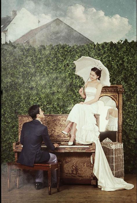 Ảnh cưới Hàn Quốc tinh tế và lãng mạn - 3