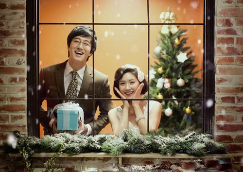 Ảnh cưới Hàn Quốc tinh tế và lãng mạn - 16