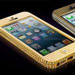 iPhone 5 đính 364 viên kim cương, nạm vàng