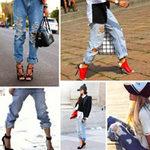 Thời trang - Khai phá cá tính với boyfriend jeans