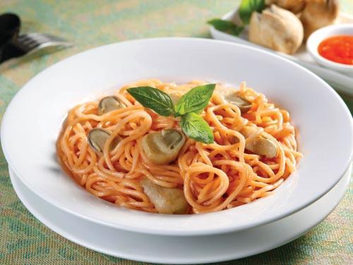 Mì Ý chay và mặn - 2