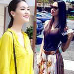 Thời trang - Xuống phố giản dị như hoa hậu Thùy Dung