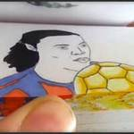 Bóng đá - Tuyệt kỹ của Ronaldinho trên giấy