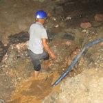 Tin tức trong ngày - HN: Vỡ đường ống, hàng ngàn hộ dân mất nước