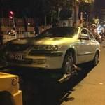 Tin tức trong ngày - Đi vào đường cấm, xe biển xanh tông xe CSGT