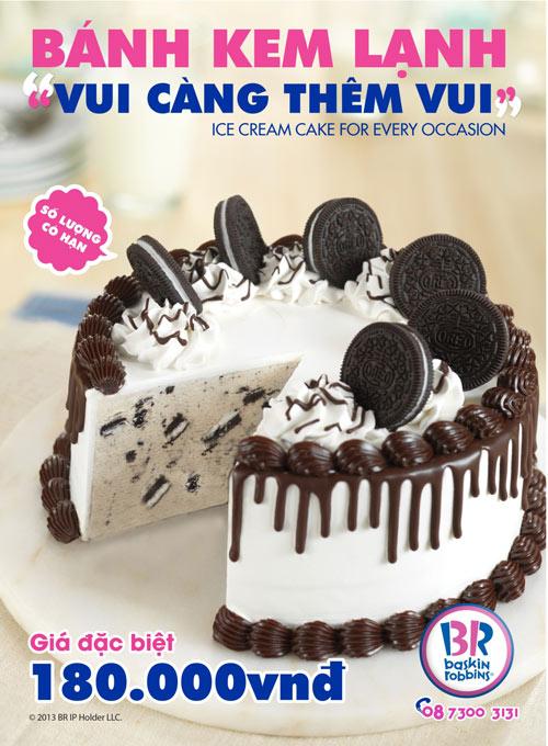 Bánh kem lạnh Baskin-Robbins - Cho ngày đặc biệt thêm vui! - 1