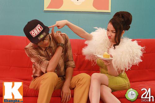 """Thủy Top bốc lửa """"giăng bẫy"""" hot boy, Ca nhạc - MTV, Thuy top, mac ke, mv moi, nhan phuc vinh, Huynh minnh thuy, sexy, ca si, am nhac, ca nhac"""