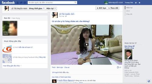 """""""Khêu gợi"""" trên Facebook có phạm tội? - 2"""