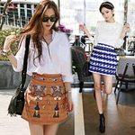 Thời trang - Váy ngắn tung tăng trên phố mùa hè