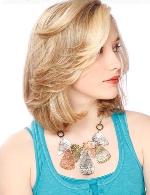 Những kiểu tóc cho cô nàng mặt bầu - 2
