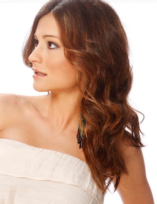 Những kiểu tóc cho cô nàng mặt bầu - 4
