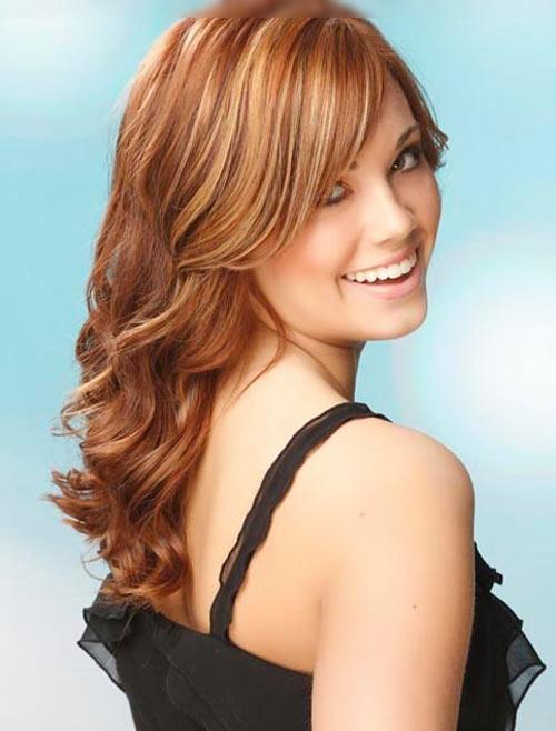 Những kiểu tóc cho cô nàng mặt bầu - 15
