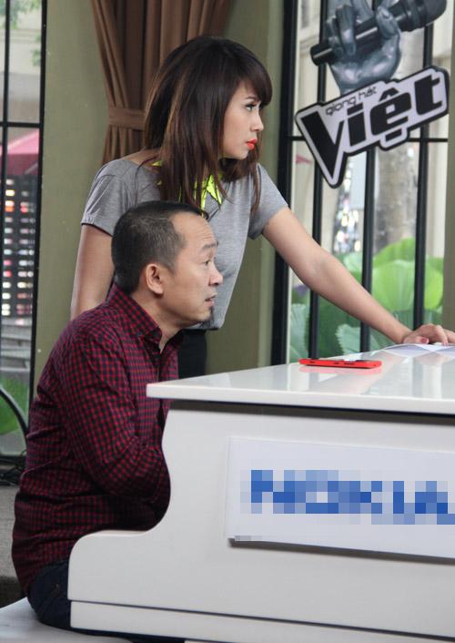 Lộ diện dàn cố vấn Đối đầu The Voice, Ca nhạc - MTV, giong hat Viet, giong hat Viet 2013, the voice, HLV, thi sinh, Mr Dam, My Linh, Hong Nhung, Quoc Trung, co van, Thanh Bui, Luu Thien Huong, doi dau, tin tuc