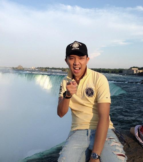 Trấn Thành nhí nhảnh tại Canada, Ca nhạc - MTV, Tran Thanh, nhi nhanh, tao dang, luu dien, Canada, MC, ca sy, dien vien, ngoi sao, tin tuc