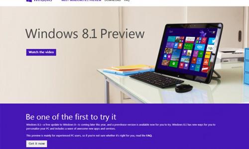 Cách tải và cài đặt Windows 8.1 bản Preview - 1