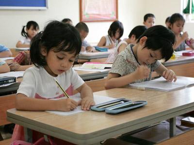 Cấm dạy trước chương trình lớp 1 - 1