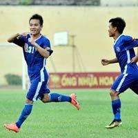 QNK Quảng Nam thăng hạng V-League 2014