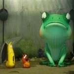 Video Clip Cười - Phim hoạt hình Larva: Ếch