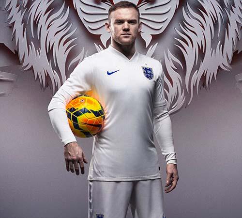 ĐT Anh ra mắt trang phục dự World Cup 2014 - 6