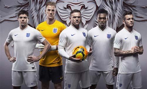 ĐT Anh ra mắt trang phục dự World Cup 2014 - 3
