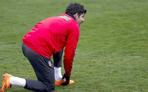 Atletico nhận hung tin về Costa trước Barca - 1