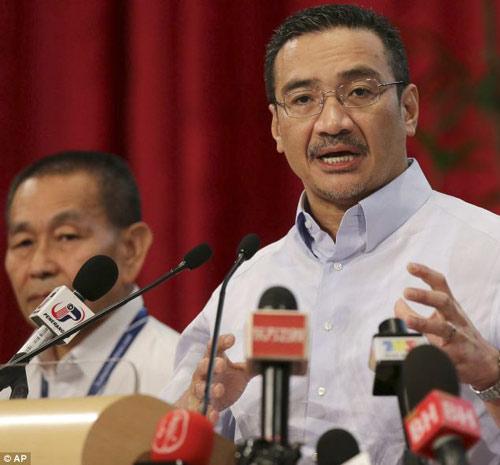 """Malaysia """"cải chính"""" lời cuối của phi công MH370 - 1"""