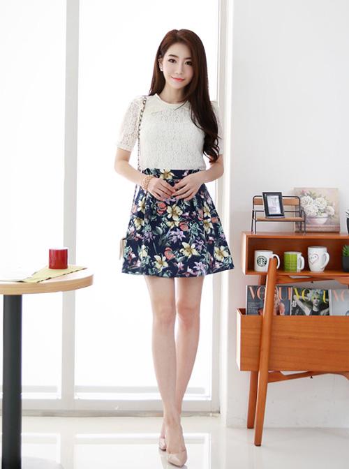 Chân váy đẹp cho nữ công sở ngày hửng nắng - 1