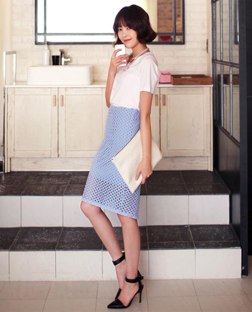 Chân váy đẹp cho nữ công sở ngày hửng nắng - 9