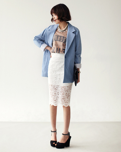 Chân váy đẹp cho nữ công sở ngày hửng nắng - 10