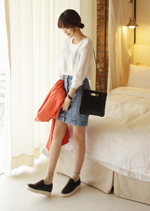 Chân váy đẹp cho nữ công sở ngày hửng nắng - 13