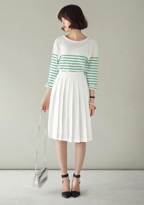 Chân váy đẹp cho nữ công sở ngày hửng nắng - 7
