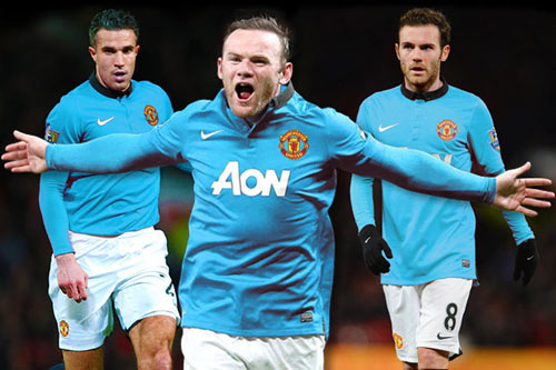 Ferguson muốn MU mặc áo xanh tiếp Bayern - 1