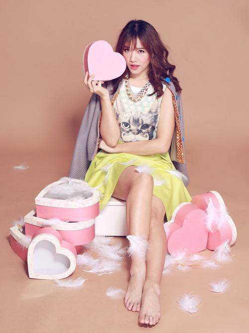 Hari Won ngọt ngào hát nhạc Hàn - 1