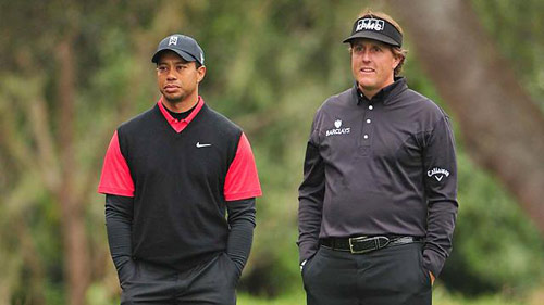 Tiger Woods, Mickelson có thể lỡ giải Masters - 1