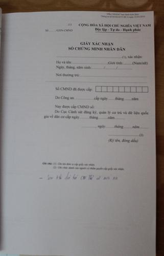 Cận cảnh quy trình cấp CMND mới 12 số - 9