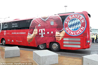 TRỰC TIẾP MU - Bayern: Gỡ hòa - 3