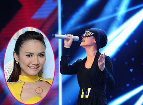 Cô gái đeo mặt nạ X- Factor bất ngờ tự thú - 1